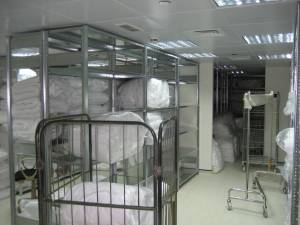 Housekeeping Linen Room