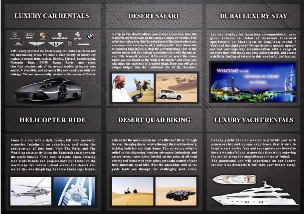 V.I.P. Luxury Brochure