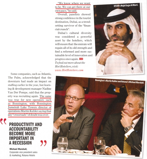 Hotelier Middle East, August 2009, Page 25