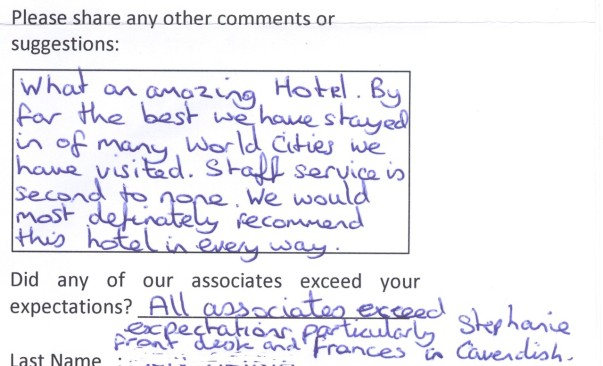 #guestcommentswednesday at the Bonnington
