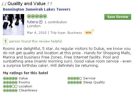 #guestcommentswednesday bonnington guest comments and reviews
