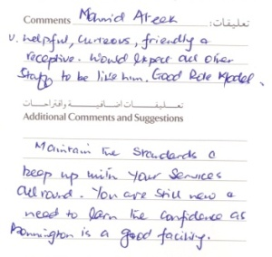 #guestcommentswednesday bonnington worldhotels dubai