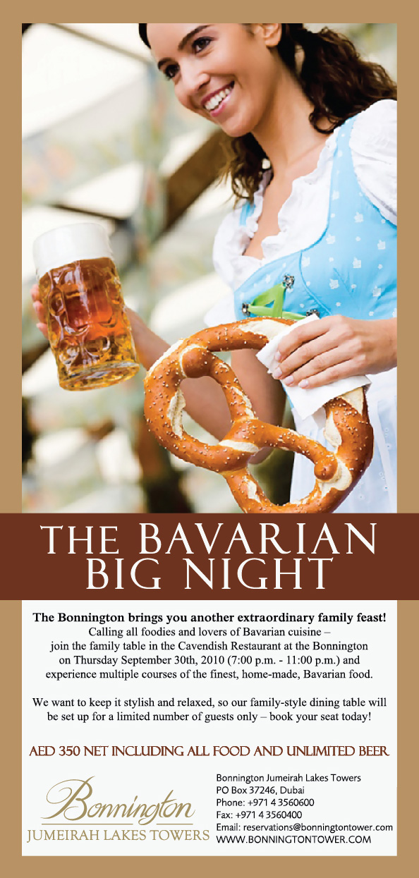 The Bavarian BIG night at the Bonnington