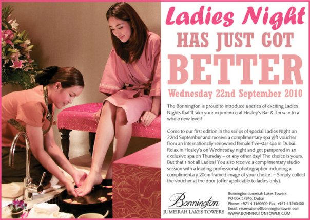 Ladies Night in Dubai now even better