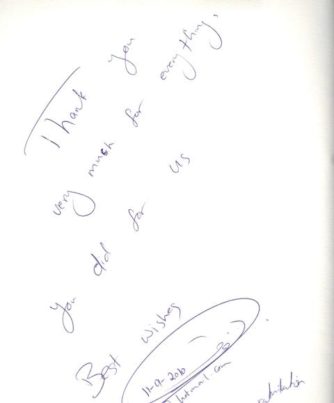 Guest comments in dubai hotels - golden books