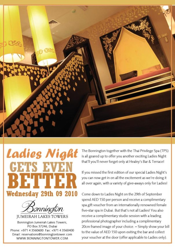 An even better ladies night in dubai