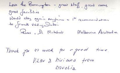 #guestcommentswednesday bonnington hotel dubai guest reviews online