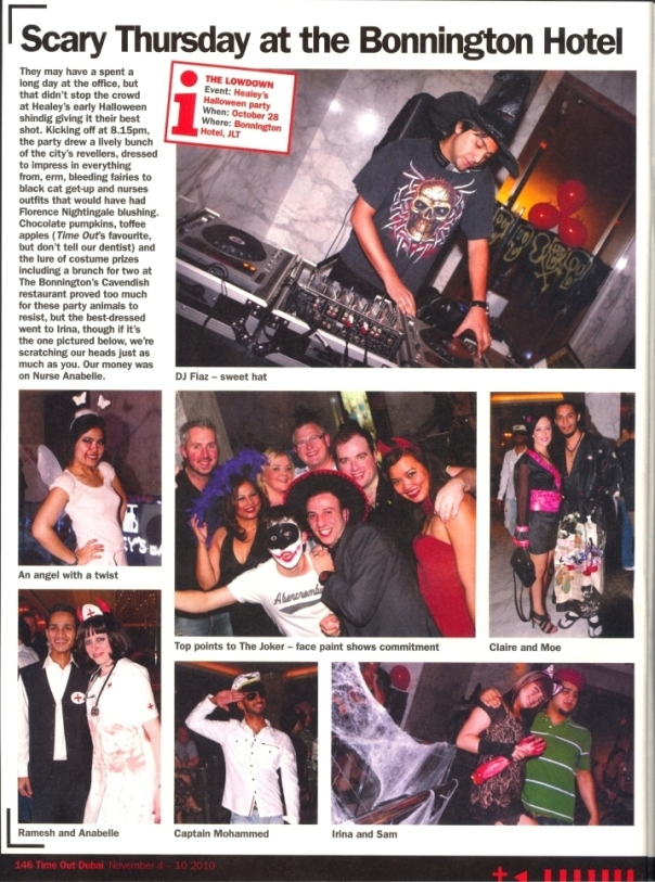 Healey's Bar Jumeirah Events Top Crowd