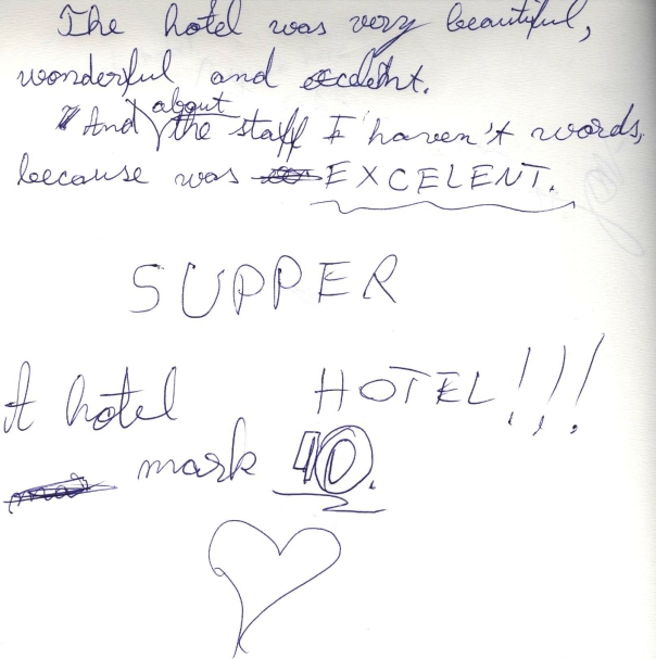 Bonnington Hotel Dubai - No. 1 for guest comments on #guestcommentswednesday