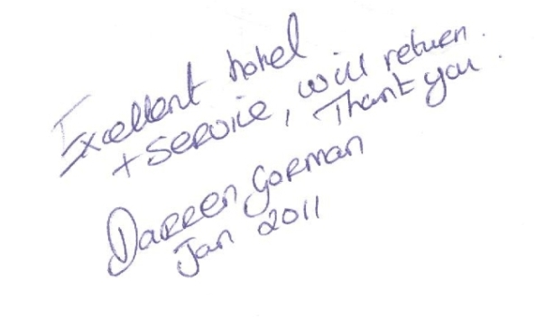 #guestcommentswednesday at the Bonnington Jumeirah