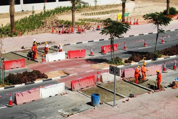 JLT road improvements