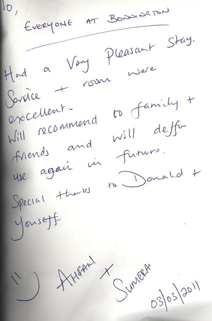 #guestcommentswednesday in Dubai. Bonnington hotel guest reviews!