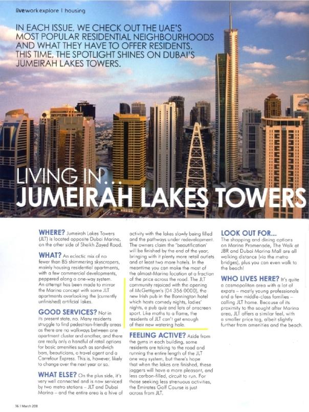 JLT in the Explorer Magazine