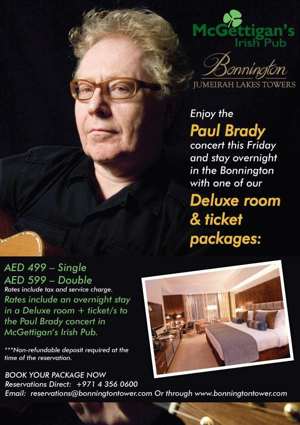 Paul Brady at the Bonnington
