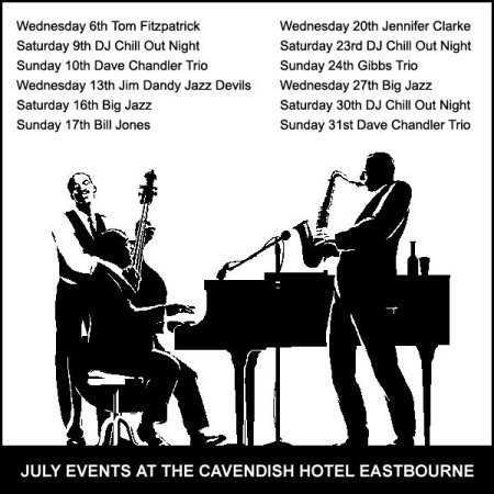 Seaside Jazz in Eastbourne at the Cavendish