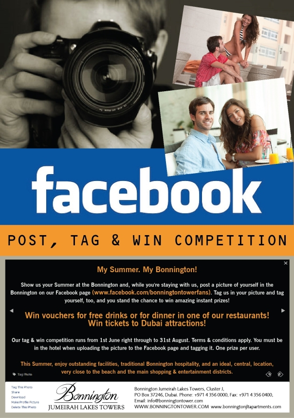 Win instant prizes at the Bonnington this summer!