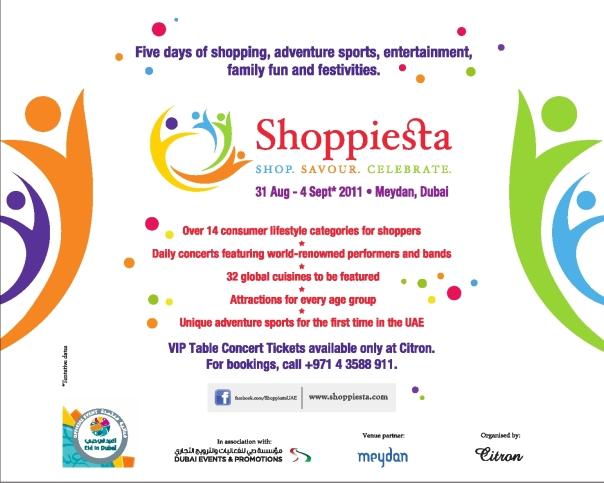 Shoppfiesta in Dubai - Eid 2011!