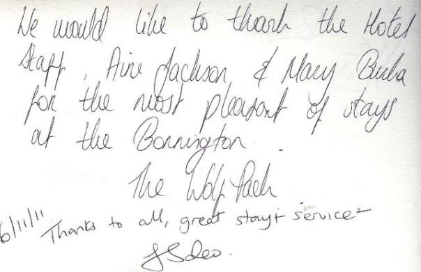 #guestcommentswednesday in Dubai at the Bonnington in JLT