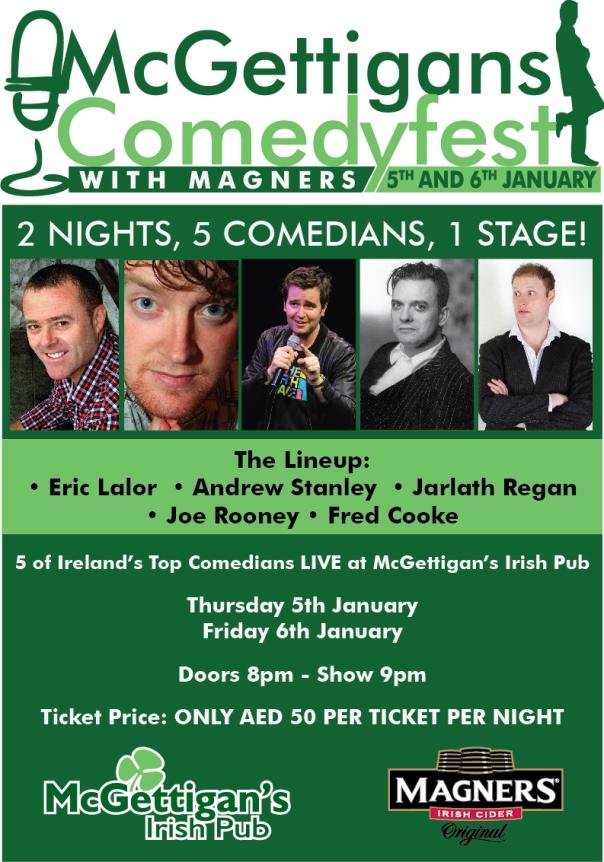 Comedy in Dubai Janaury 2012