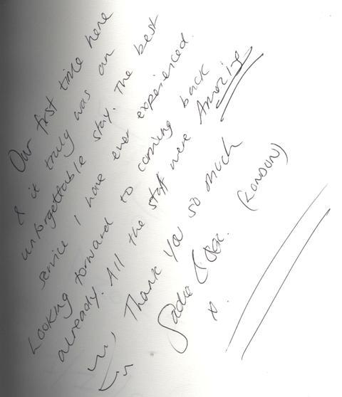 #guestcommentswednesday Bonnington Dubai guest comments & reviews