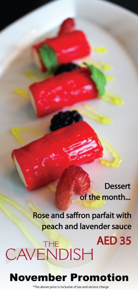 Cavendish-dessert-(Rose-and-saffron-parfait)