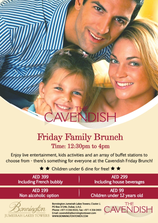 Cavendish Friday Family Brunch