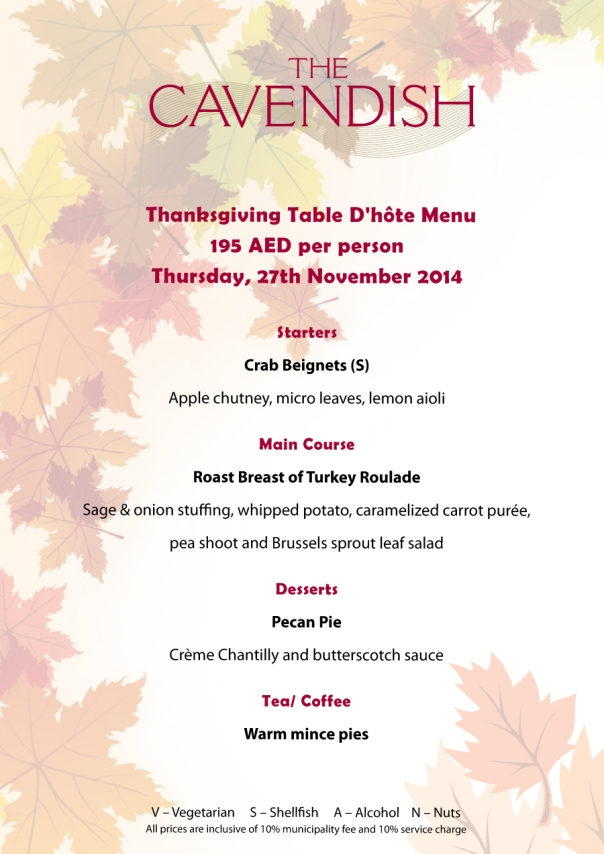 Thanksgiving-Table-menu