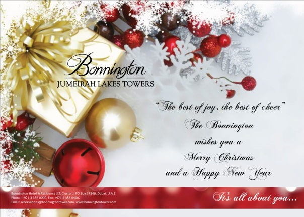 Bonnington Christmas & New Year EDM