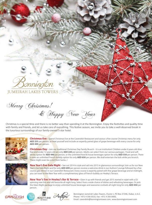Bonnington Festive 2014