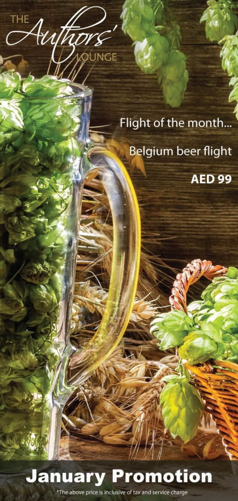 Authors-Belgium-beer-flight