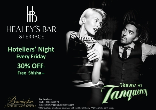 Healey's Hoteliers Night