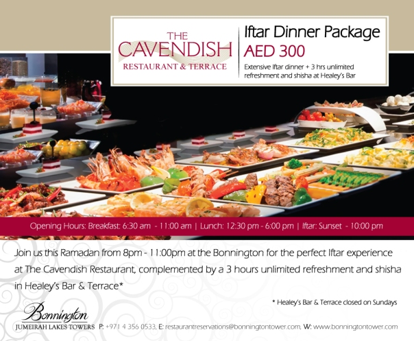 JLT Ramadan Offer 2015 Dubai
