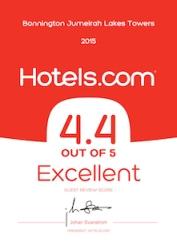 hotels.com Award 2015