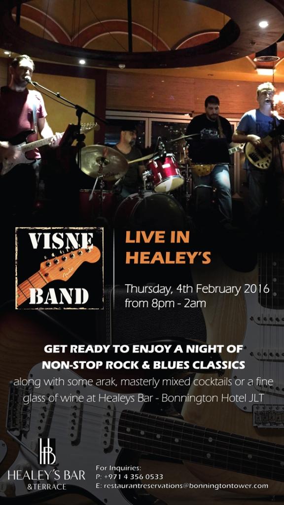 Visne Band in Healey's