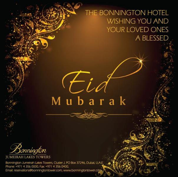 Bonnington Eid Greetings 2016