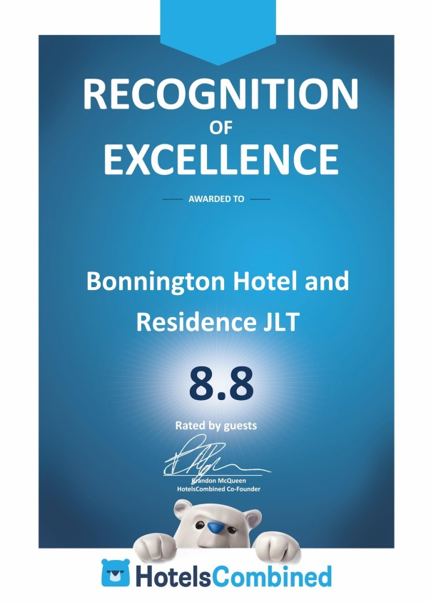 Bonnington 8.8 on Hotels Combined