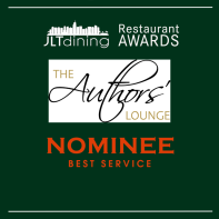 JLT DINING AWARDS SQUARE - Authors' Lounge 2